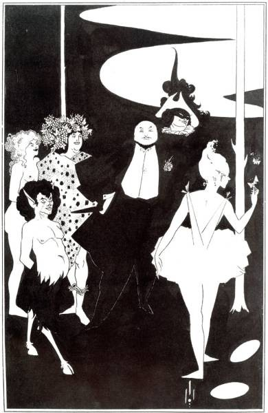 Design for the Frontispiece to Plays by John Davidson